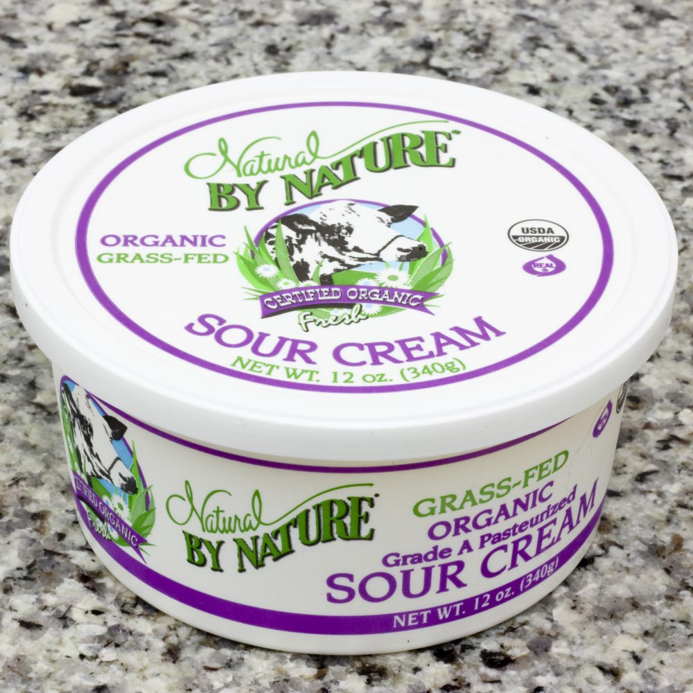 grass fed sour cream, grass fed dairy, sour cream