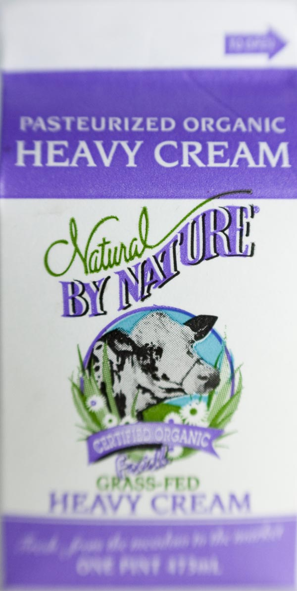 cream, heavy cream, grass fed dairy, grass fed heavy cream
