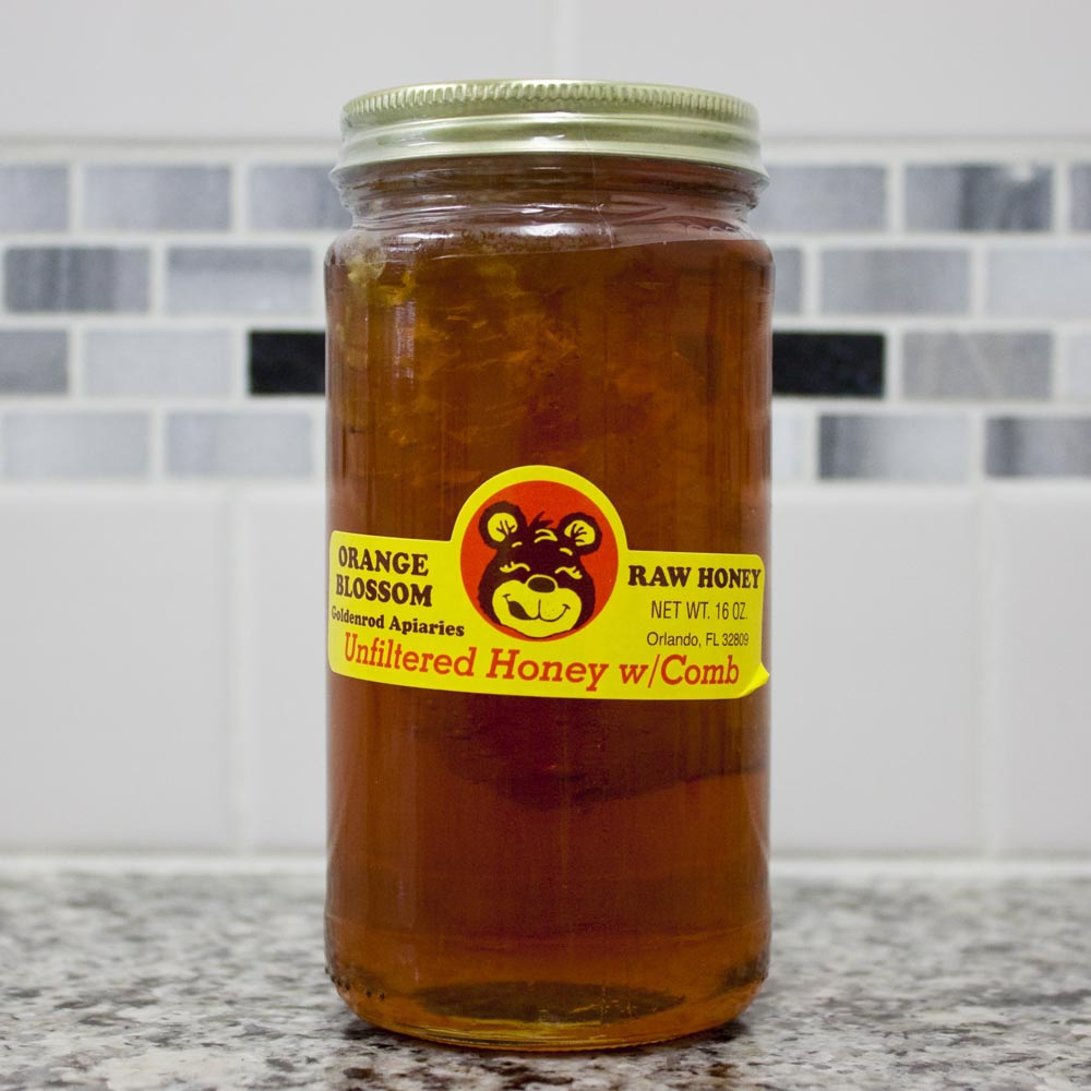 honey, raw unfiltered honey