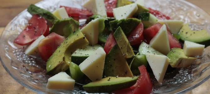 Recipe For Fresh, Local, Raw Vegetable Salad