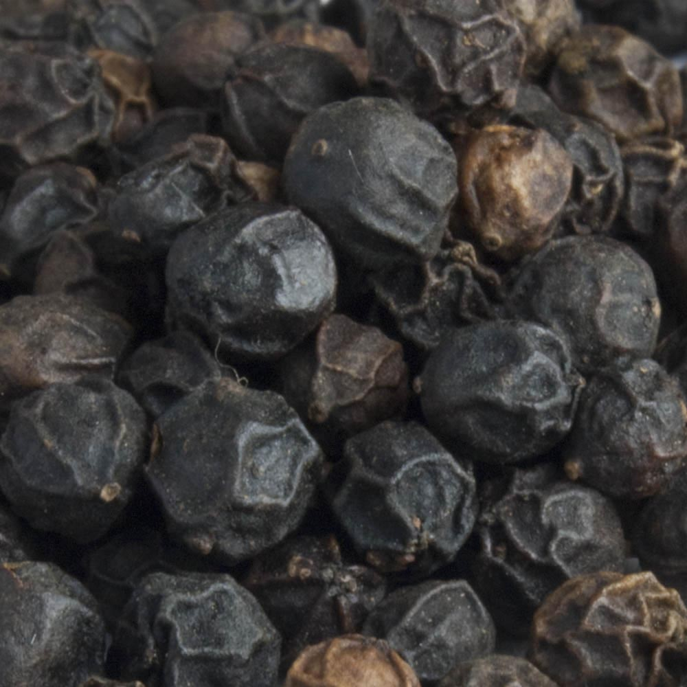 Black peppercorns are the most popular of the spice seeds and few savory recipes can do without it.