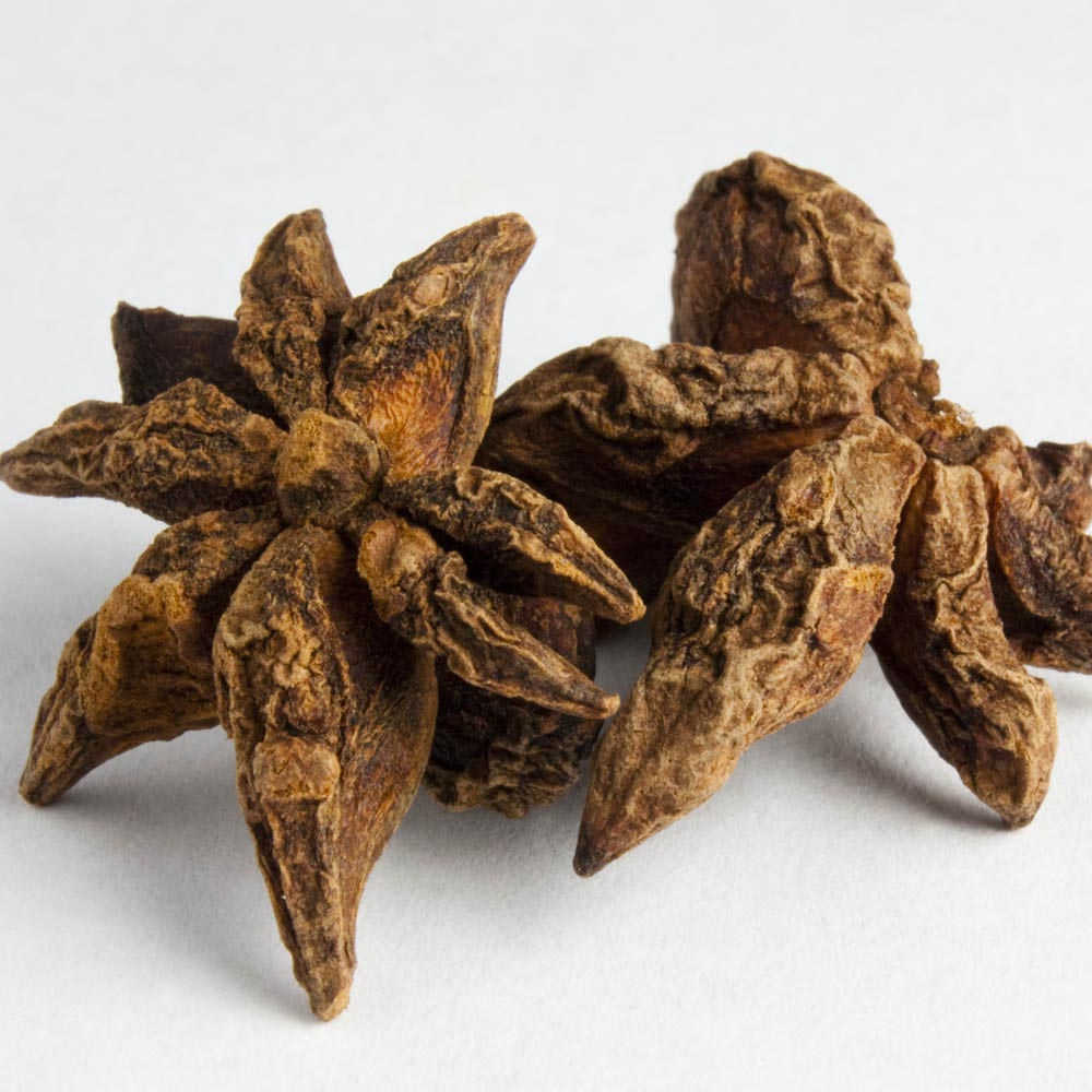 Star anise has an exotic flavor and pungent aroma. It make a good addition to a cup of tea.