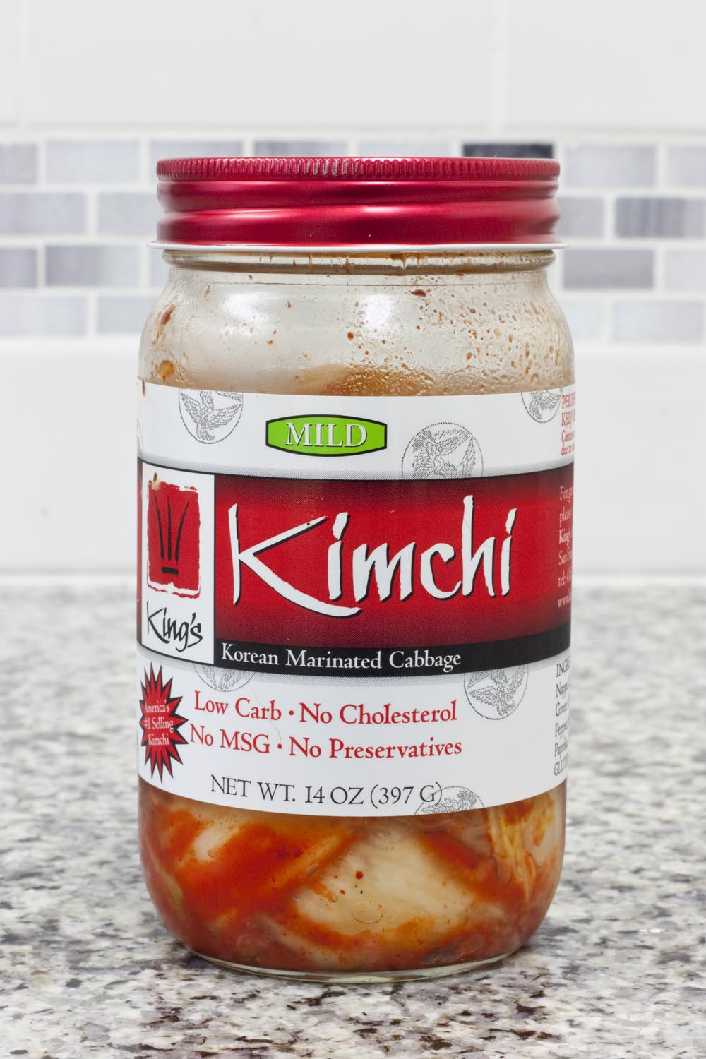 Fermented foods with living cultures are commercially available