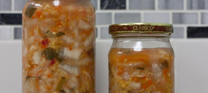An Easy To Make Fermented Kimchi Recipe