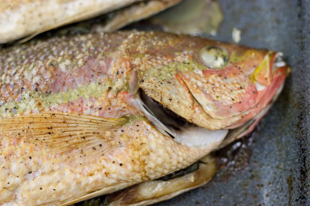 Baked whole grouper for Whole fish recipes