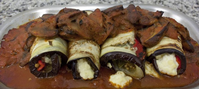 Eggplant Rollatini Recipe Is Vegetarian