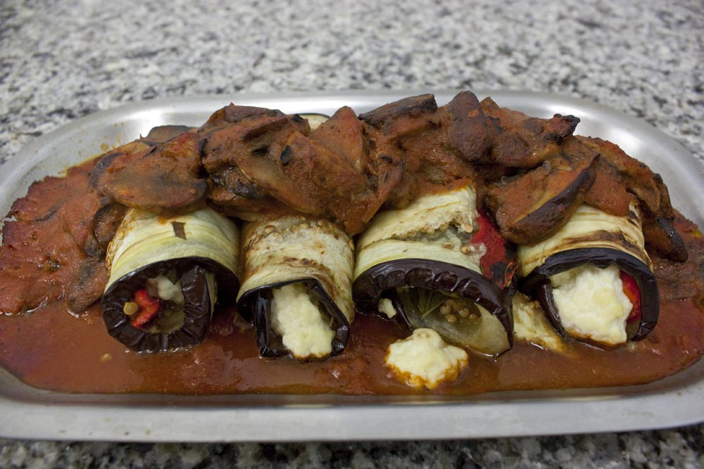Eggplant Rollatini Recipe - Vegetarian and Gluten-Free - Think, Eat ...