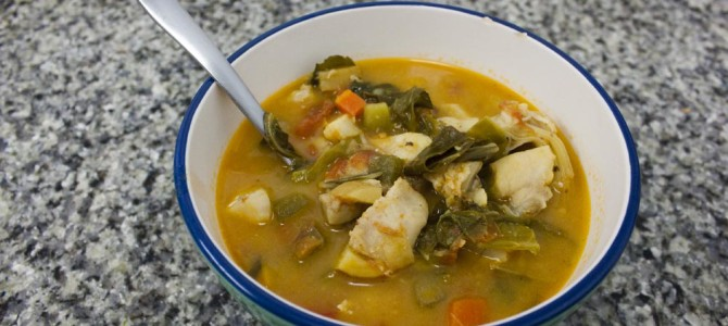 Grouper Cheeks Stew Recipe