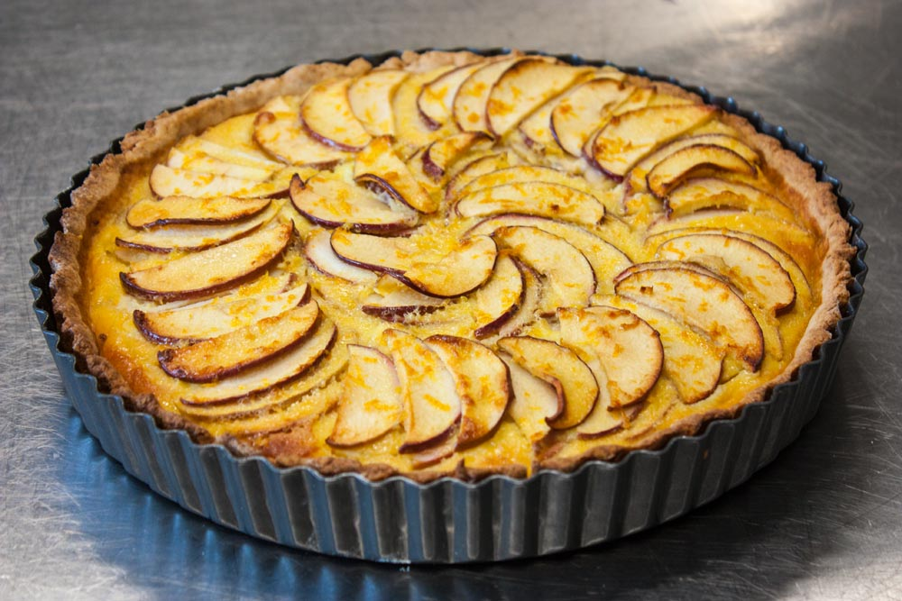 apple citrus tart recipe
