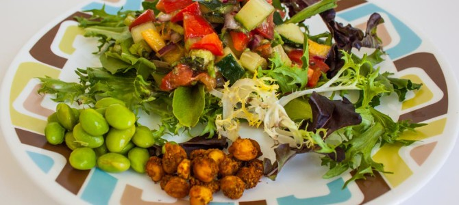 Summer Salad For A Lite Refreshing Lunch